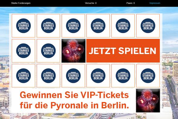 Merk`s Dir - Das Aufdeck-Spiel zur Berlin-Wahl