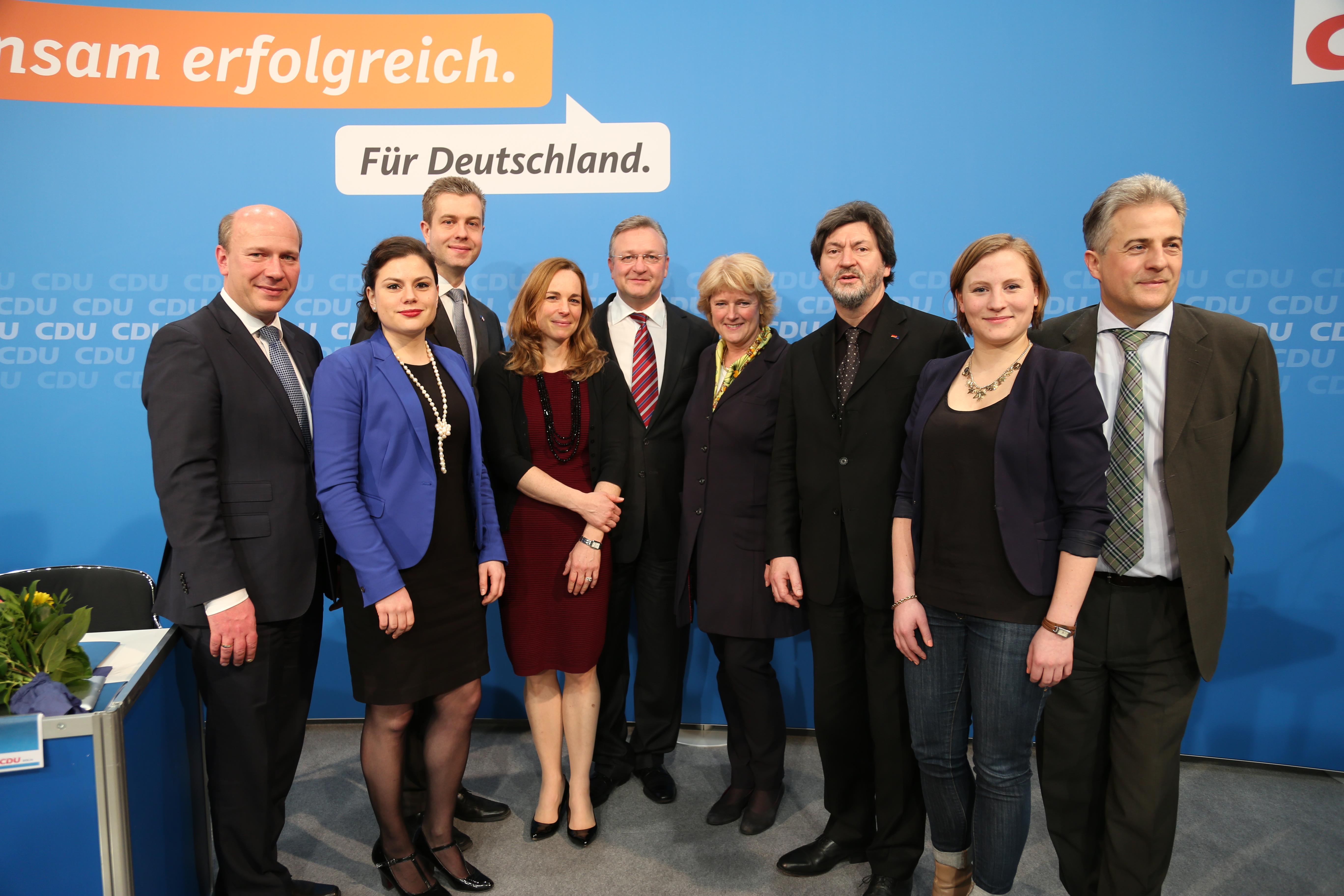 Kandidaten für die Europawahl 2014