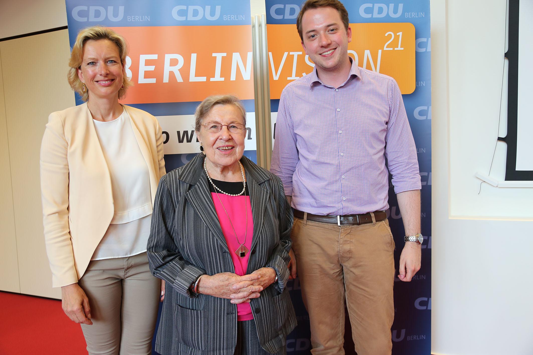 Heike Maria von Joest, Ursula Lehr  und Christoph Brzezinski