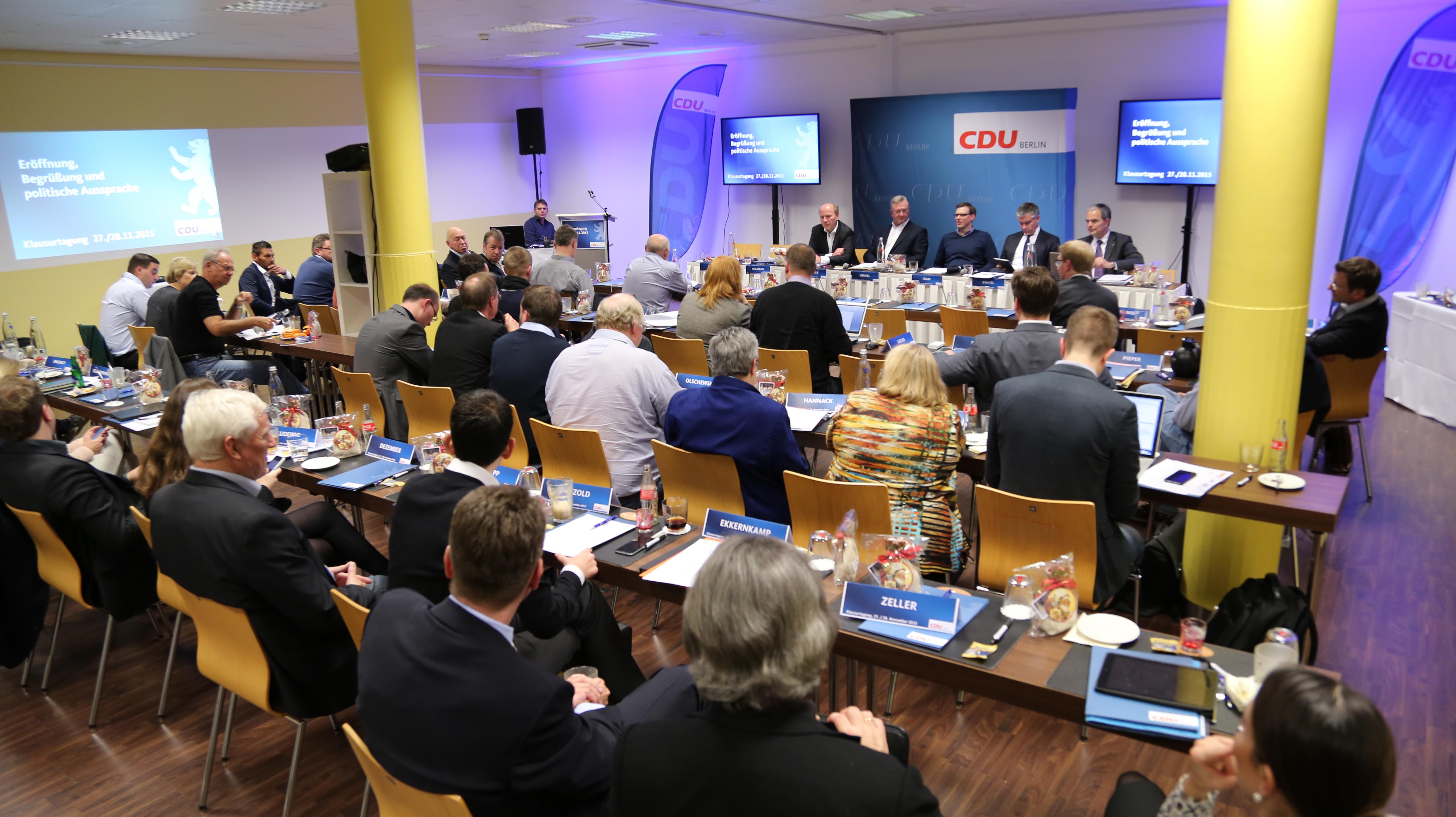 Klausurtagung der CDU Berlin in Neuruppin